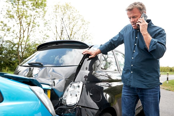 What to do after a car accident: call PARRIS accident attorneys