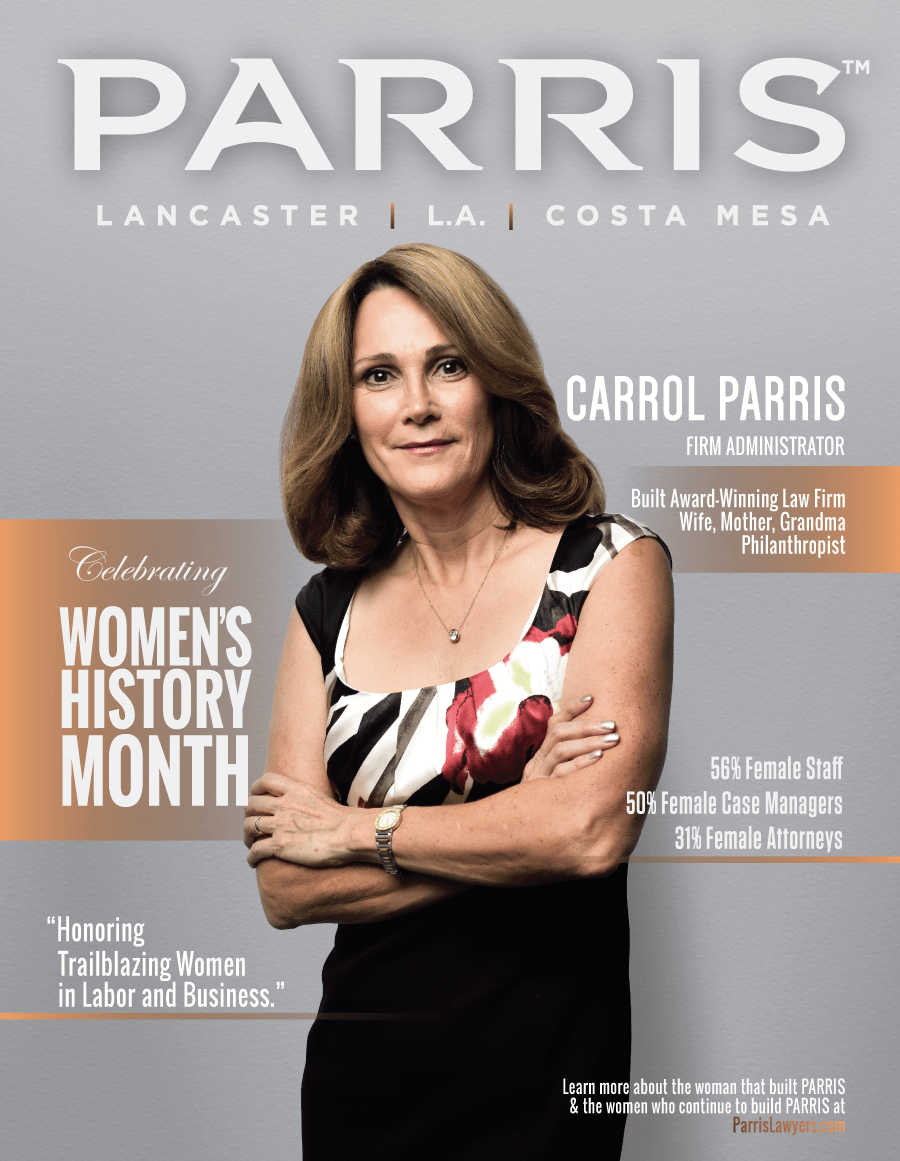 Carrol Parris, Firm Administrator and Trailblazer at PARRIS Law Firm